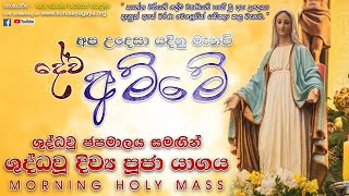 Holy Rosary with Morning Holy Mass - 26/10/2021