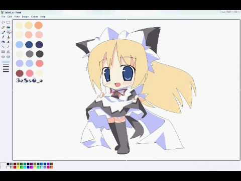 Programs For Anime Drawing Drawing Cute Anime Girl Chibi