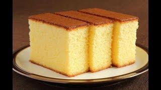 कुकर में वनीला केक बनाने का सबसे आसान तरीका   Spongy Vanilla Cake Without Oven/Basic Plain Soft Cake