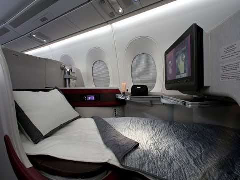 Qatar Airways A350 Business Class - World's 5 Star Airline القطرية درجة رجال الأعمال