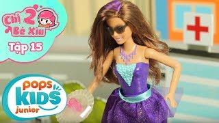 Đồ Chơi Búp Bê Barbie - Barbie Siêu Điệp Viên - Chị 2 Bé Xíu Tập 15