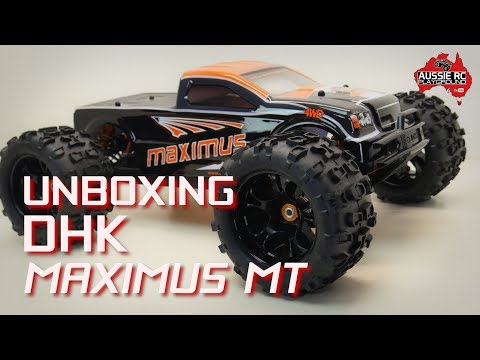 Unboxing: DHK Maximus 1/8 Scale Monster Truck