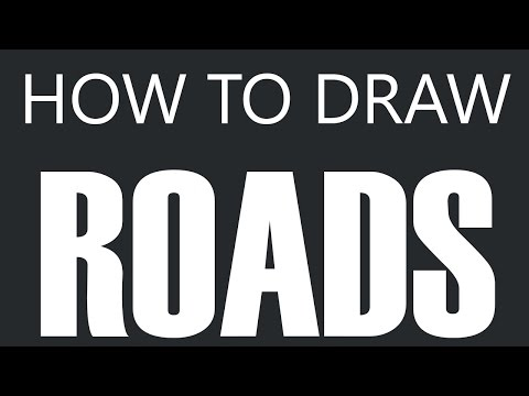 Winding Country Road Drawing How to Draw a Road Winding
