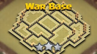 Download TH8 (Town Hall 8) War Base Anti 3 Star + Defense Log | Anti Hogs/Gowipe/Dragon | Clash Of Clans 3Gp Mp4