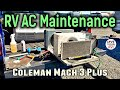 RV Air Conditioner Maintenance - New Gasket Seal + Clean & Lube