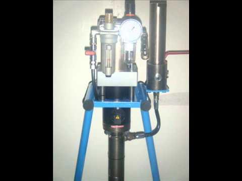 Pompa acqua a scoppio usata