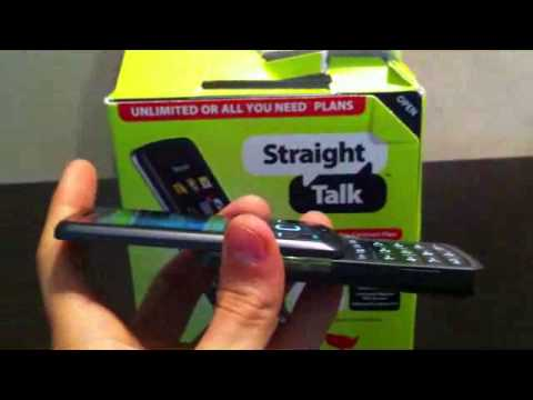 Straight Talk LG290C Review