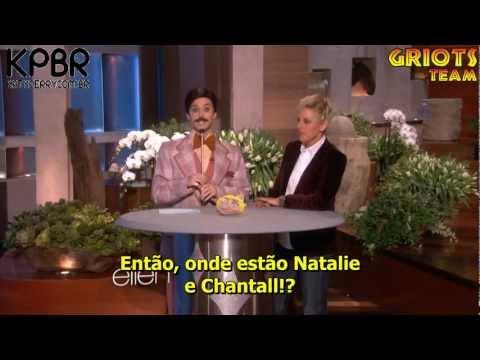 Katy Perry na Ellen DeGeneres (Legendado) - 25.01.13