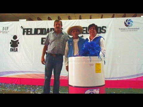 Abuelitos felices en su dia, en Valle de Bravo