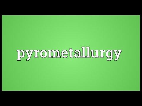 Header of pyrometallurgy