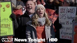 Denver's Public School Teachers Are Revolting Against Merit Pay (HBO)