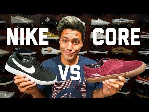 CORE VS CORPORATE SKATE SHOES!!