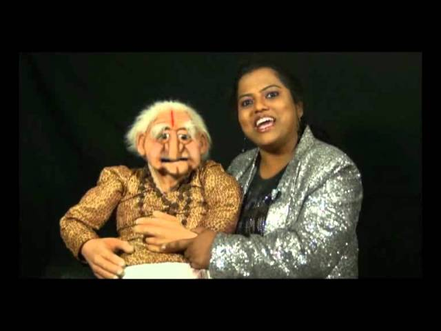 'Ask-Tell Couple'  - Performed by Ventriloquist Indushree for Axtell puppet's video challenge!!!