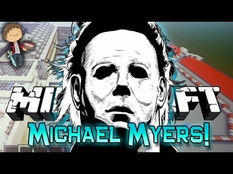 Minecraft: MICHAEL MYERS Mini-Game Challenge w/Mitch & Friends!