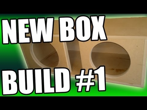Sikvibration   Ported Sub Box Enclosure Build   2 Vibe Space 15s   Part 1 video