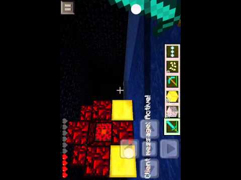 How to Make Nether Reactor Minecraft PE