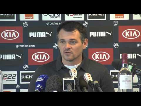 Willy Sagnol - Point Presse Bordeaux vs Nice