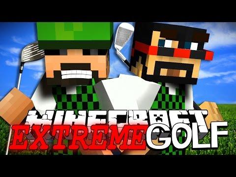 Minecraft | EXTREME Golf | 3-Hole Challenge