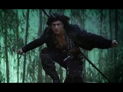 King Khan Fights Sanjay Dutt To Save Priyanka  - Ra.one video