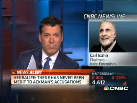 Carl Icahn:  Ackman's Attacks on Herbalife Insane