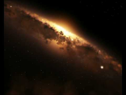 ESA - Hubble - hst15 milky way - 3D animation of the Milky Way from Hubble, 23s