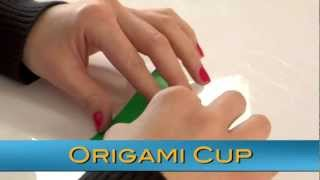 Kelly Kits: Origami - How To Make A Paper Cup