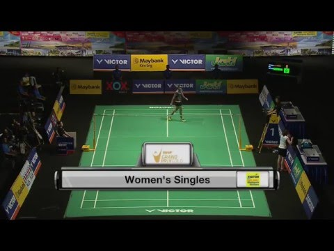 Victor Far East Malaysia Masters 2016 | Badminton F M2-WS | P.V Sindhu vs Kirsty Gilmour