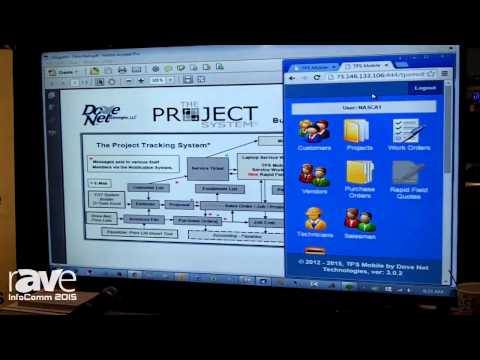 InfoComm 2015: Dove Net Software Displays The Project System