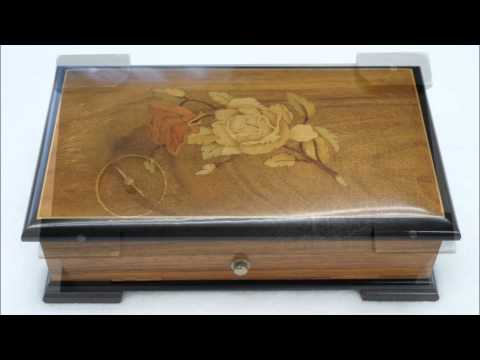 Thorens 41 Note Music Box トーレンス41弁6曲オルゴール Rio Rita video