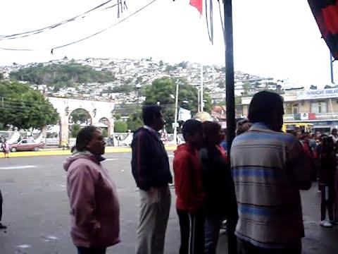 San Pedro Xalostoc fiestas patrias 2009 Honores a la bandera