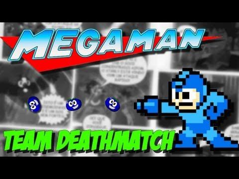 Megaman 8-bit Team Deathmatch  - Mais um FPS Maroto