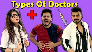 Types Of Doctors | Funny Video | 4 Heads