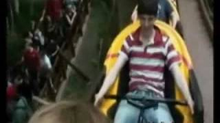 Bradley, Colin, Angel & Anthony at the Amusement Park (Cast of Merlin BBC)