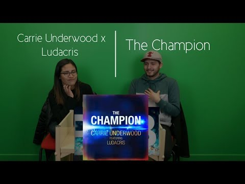 Carrie Underwood Ft.  Ludacris | The Champion (Audio) Reaction | The Millennial Chisme