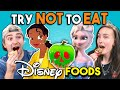 Try Not To Eat Challenge - Disney Princess Food | People Vs. ...