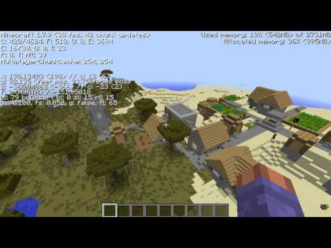 Top 3 NPC Village Minecraft Seeds 1.7.10