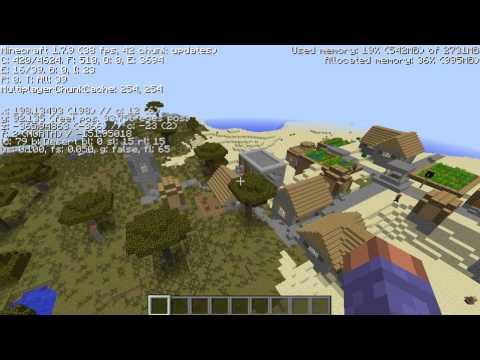 Top 3 NPC Village Minecraft Seeds 1.7.10