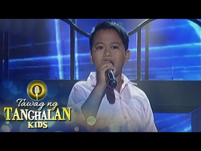 Tawag ng Tanghalan Kids: Niel Austin Tamayo | Ngayon At Kailanman