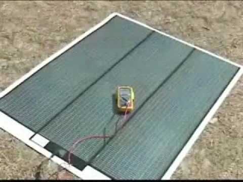 Peel and Stick Solar Panel Overview