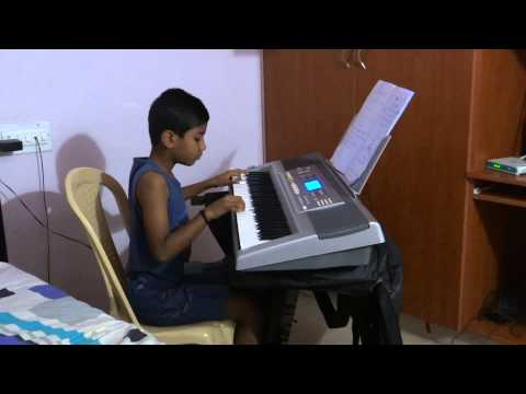 Har Ghadi Badal - Kal ho na ho on Keyboard - Balu.mp4