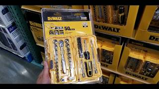 "Costco! DeWalt 1/4"" Drive 50 PC Tool Set for $29! REVIEW! Unboxing!"