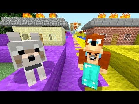 Minecraft Xbox Burning Houses 263
