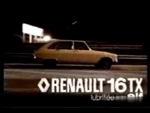 Publicit Renault 16