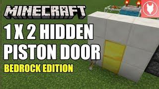 ... Minecraft Bedrock - 1 x 2 Hidden Piston Door/ Half Jeb Door Tutorial ( Xbox  sc 1 st  Watch free online video & Minecraft Survival 1 : 14 - Wither Skeleton Farm Concept (Bedrock ...