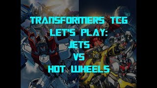 Wreck 'n Rule - Transformers Trading Card Game TCG - Let's Play: Jets vs Hot Wheels