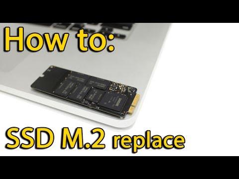 MacBook Pro A1502 SSD replacement, замена SSD платы ноутбука