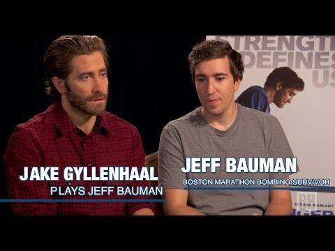 "Filmmakers: Jake Gyllenhaal & Jeff Bauman on the film ""Stronger"""