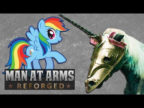 Rainbow Dash's Chamfron (My Little Pony: Friendship Is Magic) - MAN AT ARMS: REFORGED