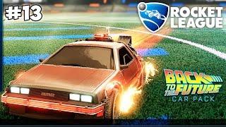 Rocket League: НАЗАД В БУДУЩЕЕ (BACK TO THE FUTURE) CAR PACK (13 серия )