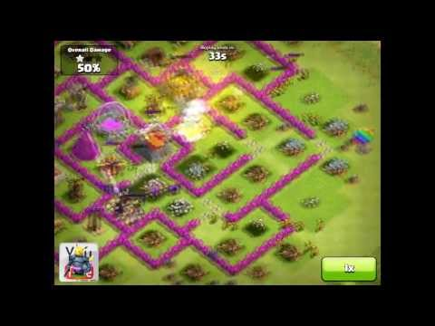 Clash of Clans [Offense] Heavily Segmented Design ft. The 3 Musketeers